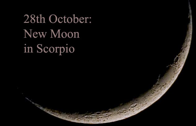 new moon october 2019