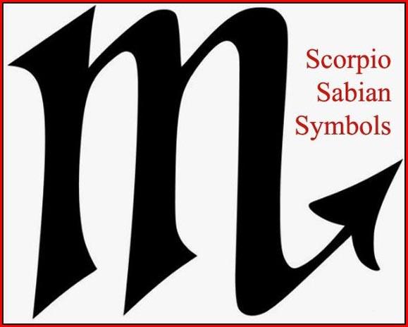 scorpio sabian symbols
