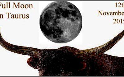 12th November Full Moon in Taurus