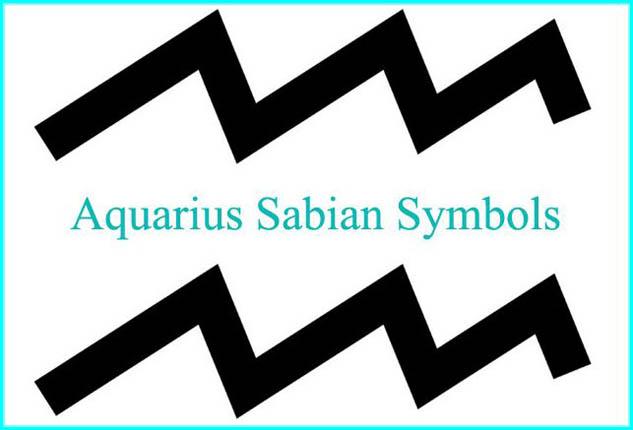 aquarius sabian symbols