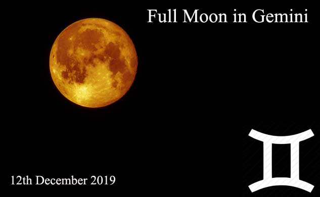 December 2019 Full Moon in Gemini – The Power of Words