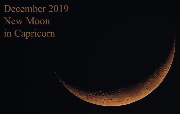 december 2019 new moon in capricorn