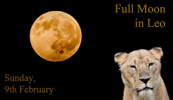 February Full Moon in Leo for Each Zodiac Sign – Self-Expression