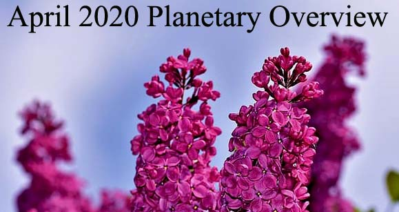 April 2020 Planetary Overview – Major Astrological Aspects and Transits