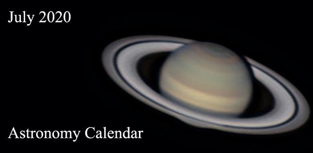 July 2020 Astronomy Calendar