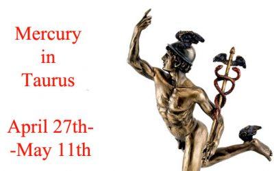 mercury in taurus 2020