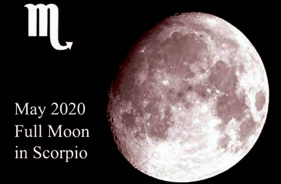 May 2020 Full Moon in Scorpio: the Power of Your Subconscious Mind