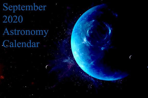september 2020 astronomy