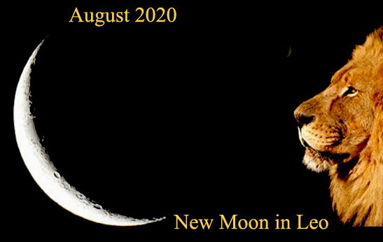 19th August 2020: New Moon in Leo
