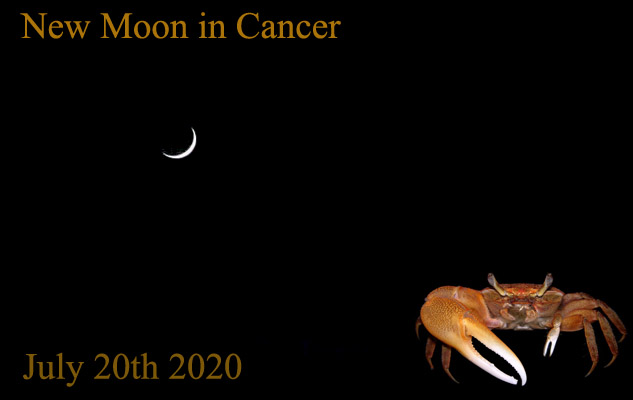 July 20th 2020: Second Consecutive New Moon in Cancer