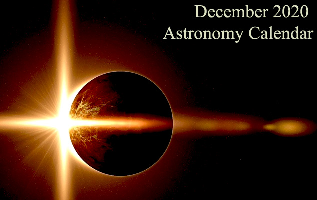 December 2020 Astronomy Calendar