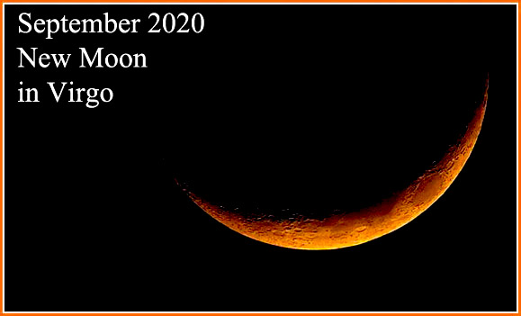 September 2020 New Moon in Virgo: Practice and Real Concentration