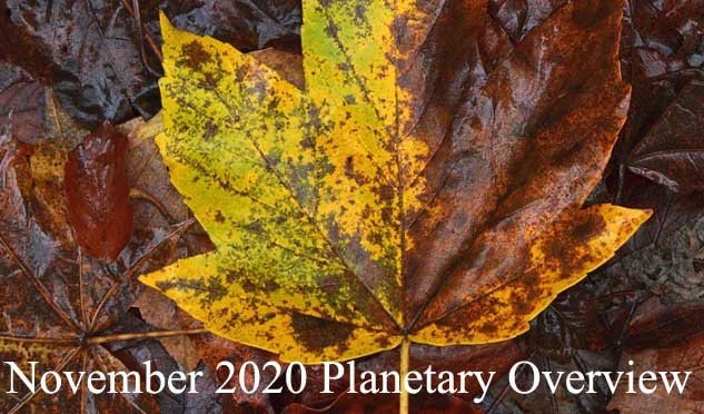 November 2020 Planetary Overview: Major Astrological Aspects and Transits