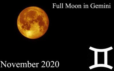 full moon in gemini november 2020