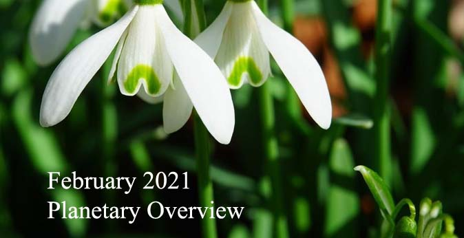 February 2021 Planetary Overview – Major Astrological Aspects and Transits