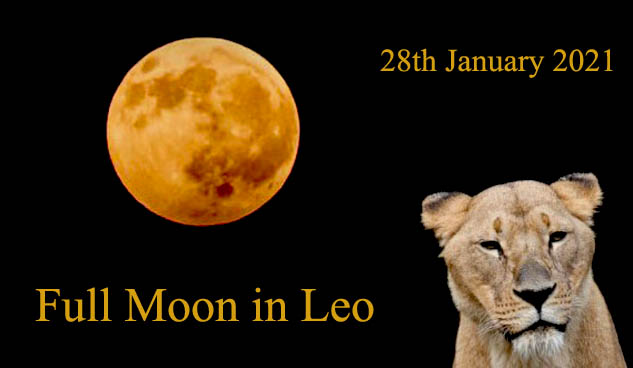 28th January 2021 Full Moon in Leo – How It Affects Each Zodiac Sign