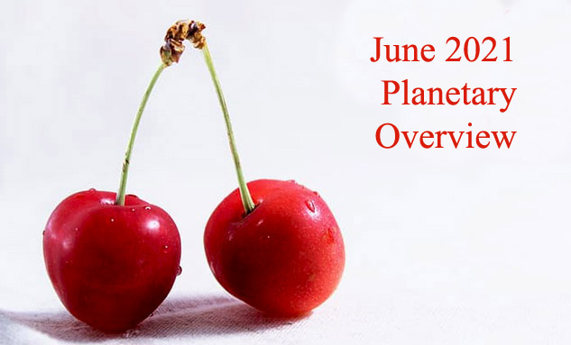 June 2021 Planetary Overview – Major Astrological Aspects and Transits