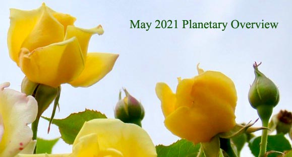 May 2021 Planetary Overview – Major Astrological Aspects and Transits